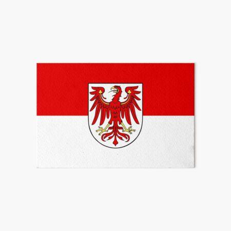 Flag of Brandenburg Art Board Print