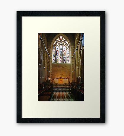 Altar—Saint David's Cathedral, Hobart Framed Print
