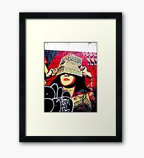 are we betraying the planet? Framed Print