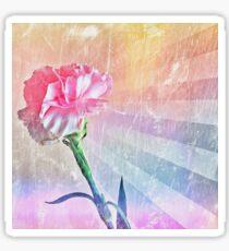 Pastel Carnation Sticker