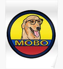 Modern Baseball Dog Poster