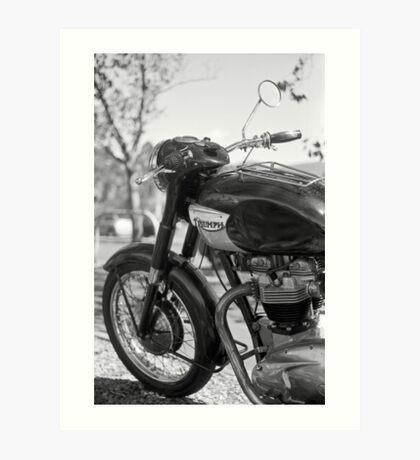 Triumph 650 Art Print