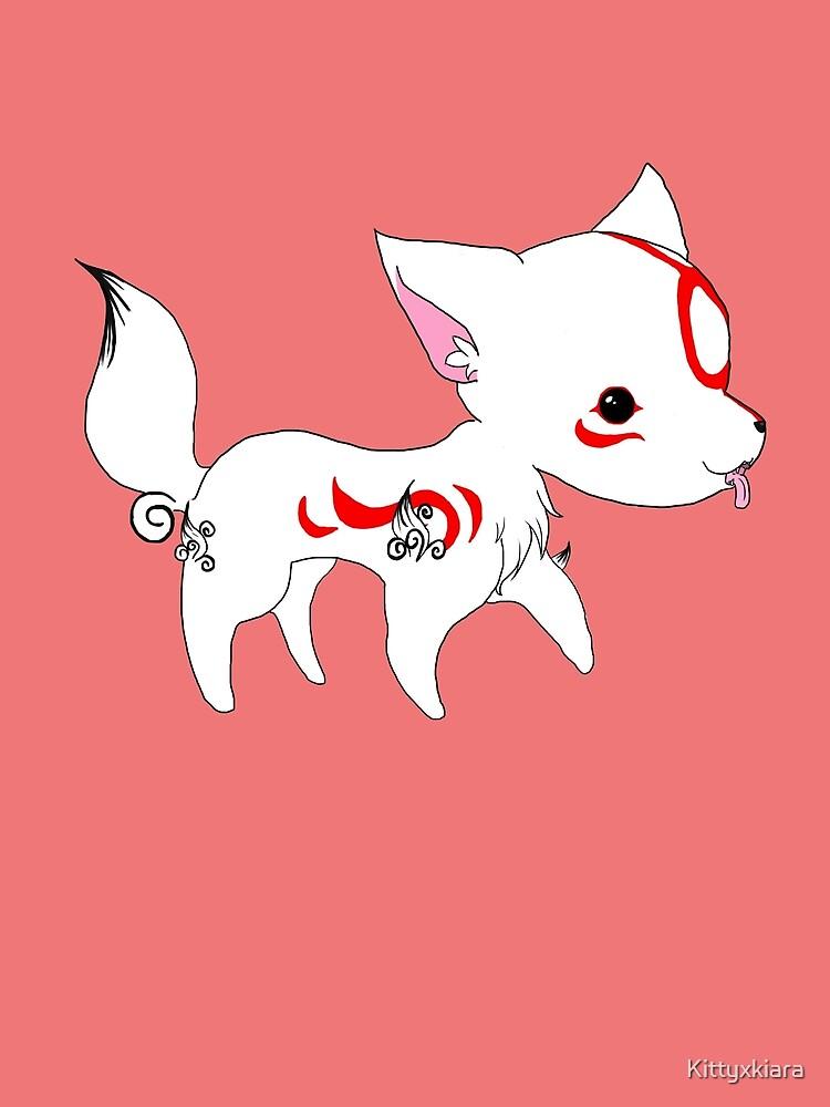 Chibi Ammy - Okami by Kittyxkiara