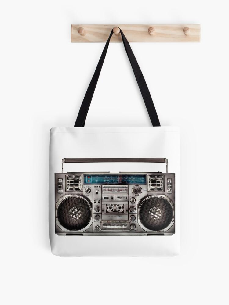 Ghetto Blaster T-Shirt-Rétro Années 80 Old School Hip Hop Rap Années 90 Boombox Beatbox