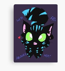 We're All Adorable here! Canvas Print