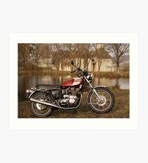 Triumph T160 Trident Art Print