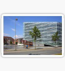 Commercial Architecture, Copenhagen, Denmark Sticker