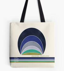Earth's Atmosphere Tote Bag