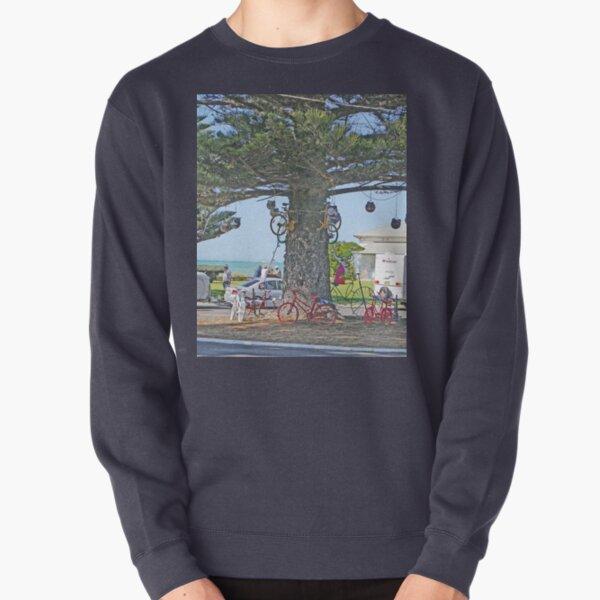 Bicycle tree, Beachport, South Australia Pullover Sweatshirt