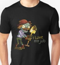 Plants vs Zombies - I Love My Job Unisex T-Shirt