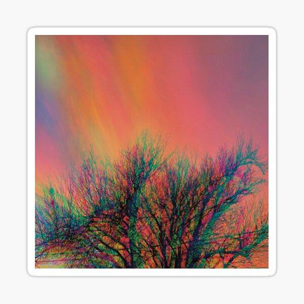 Sunset Aberration Sticker