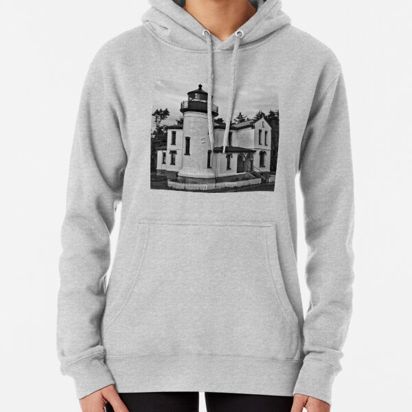 Admiralty Head Lighthouse 2 Pullover Hoodie
