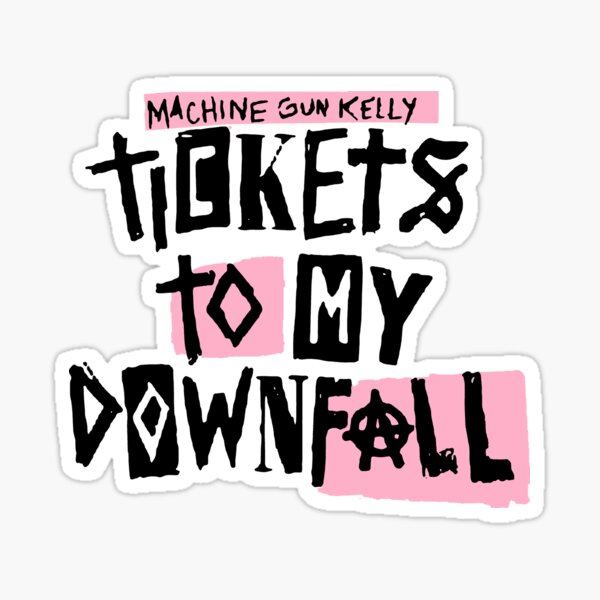tickets-kellys Sticker