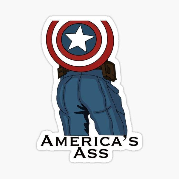 America's Ass Sticker