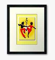 Rock, Bop Jump & Jive Framed Print