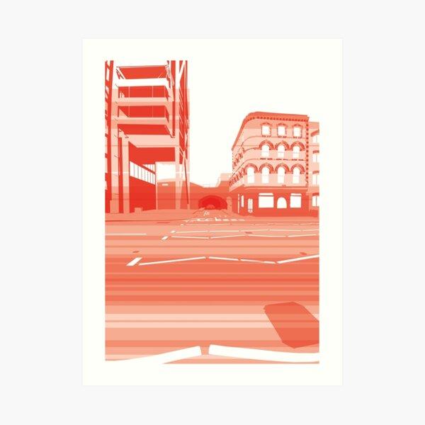 Embankment Momentum (lite) Art Print