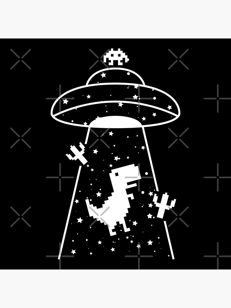 TRex Extraterrestrial UFO Abduction No Floor by gengns
