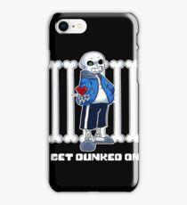 "Undertale - Sans ""Get Dunked On"" iPhone Case/Skin"