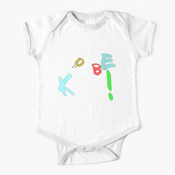 Mejor vendido: regalo con el logotipo de Kobe Bryant Body de manga corta para bebé