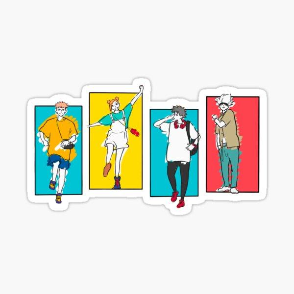 Jujutsu Kaisen ED Art Sticker