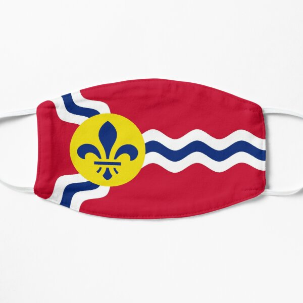 Flag of St. Louis Flat Mask