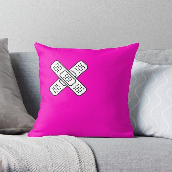 Band Aid Throw Pillow