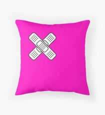 Band Aid Throw Pillow