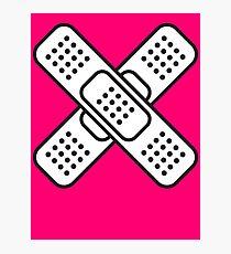 Band Aid Photographic Print