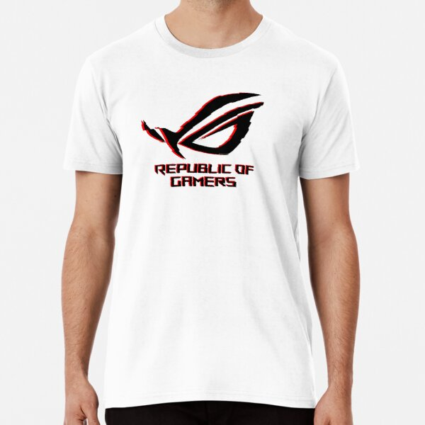 Asus Rog Republic Of Gamers Premium T-Shirt