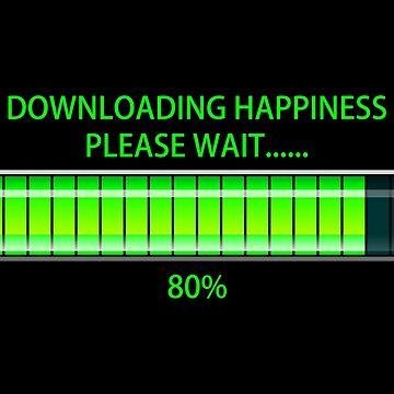 Downloading Happiness, Please Wait. by winifredweiss