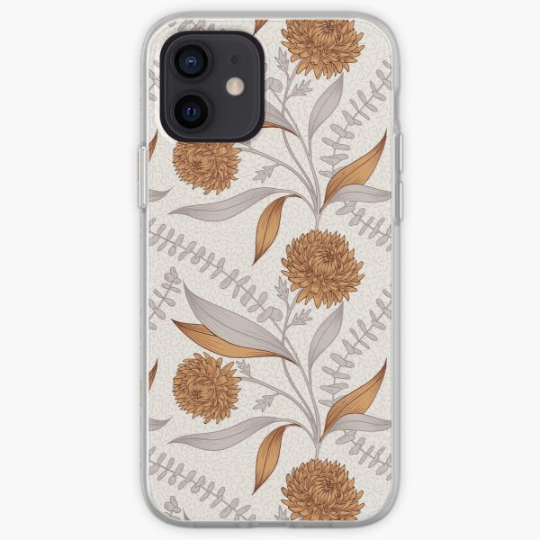 Winter Bouquet - Rose iPhone Soft Case