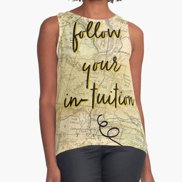 Follow Your Intuition Sleeveless Top