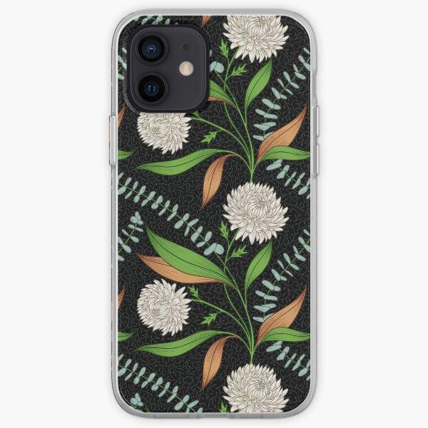 Winter Bouquet - Black iPhone Soft Case