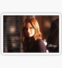 Kate Beckett Sticker