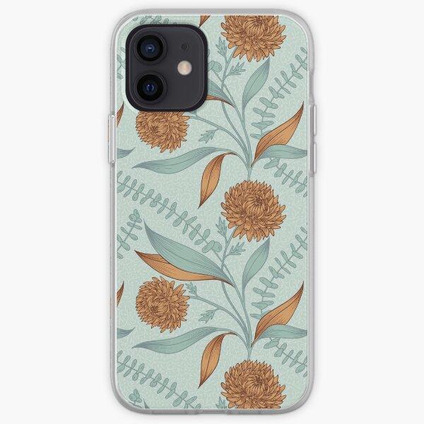 Winter Bouquet - Seafoam iPhone Soft Case
