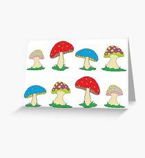 Magic Mushrooms! Greeting Card