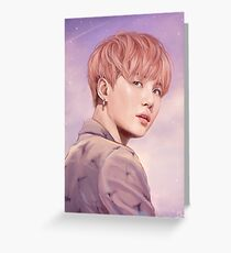 YOUNG FOREVER   suga  Greeting Card