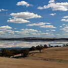 Clouds over Lake Dumbleyung by adbetron