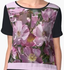 Mass Of Roses Women's Chiffon Top