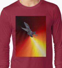 Shoot For The Sky - RAAF F/A-18 Design Long Sleeve T-Shirt