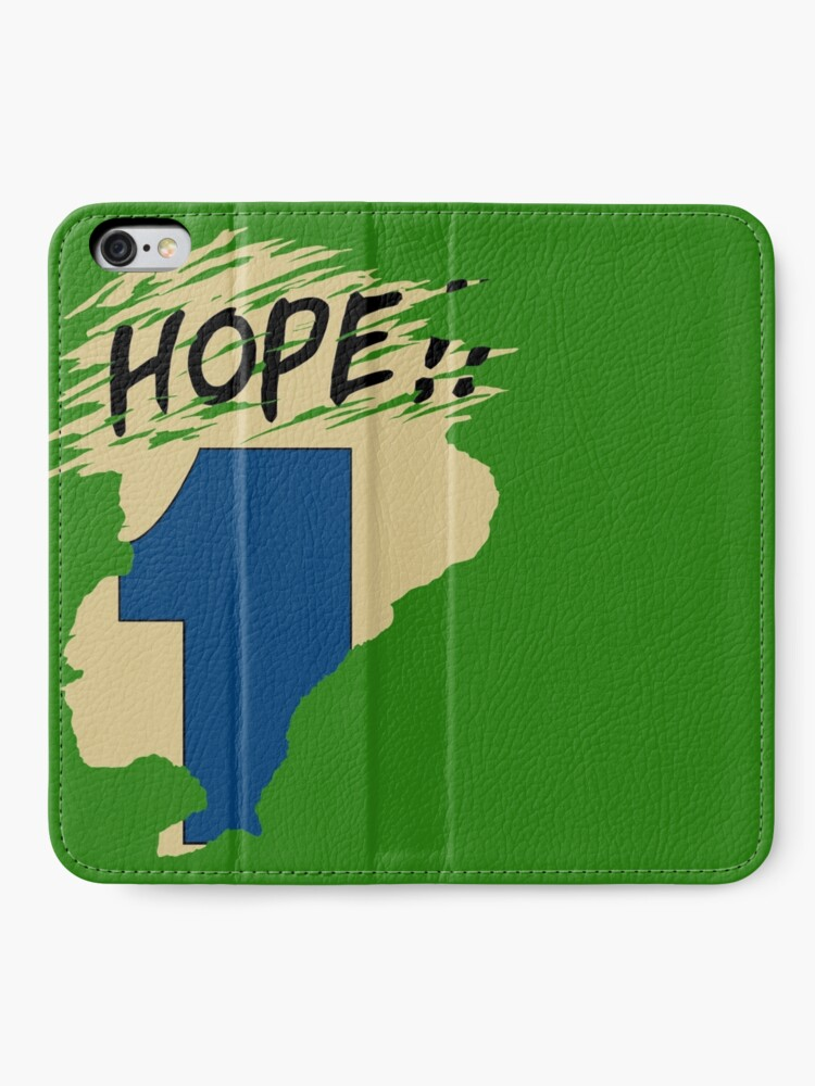 Alternate view of Hope!! (time machine) iPhone Wallet