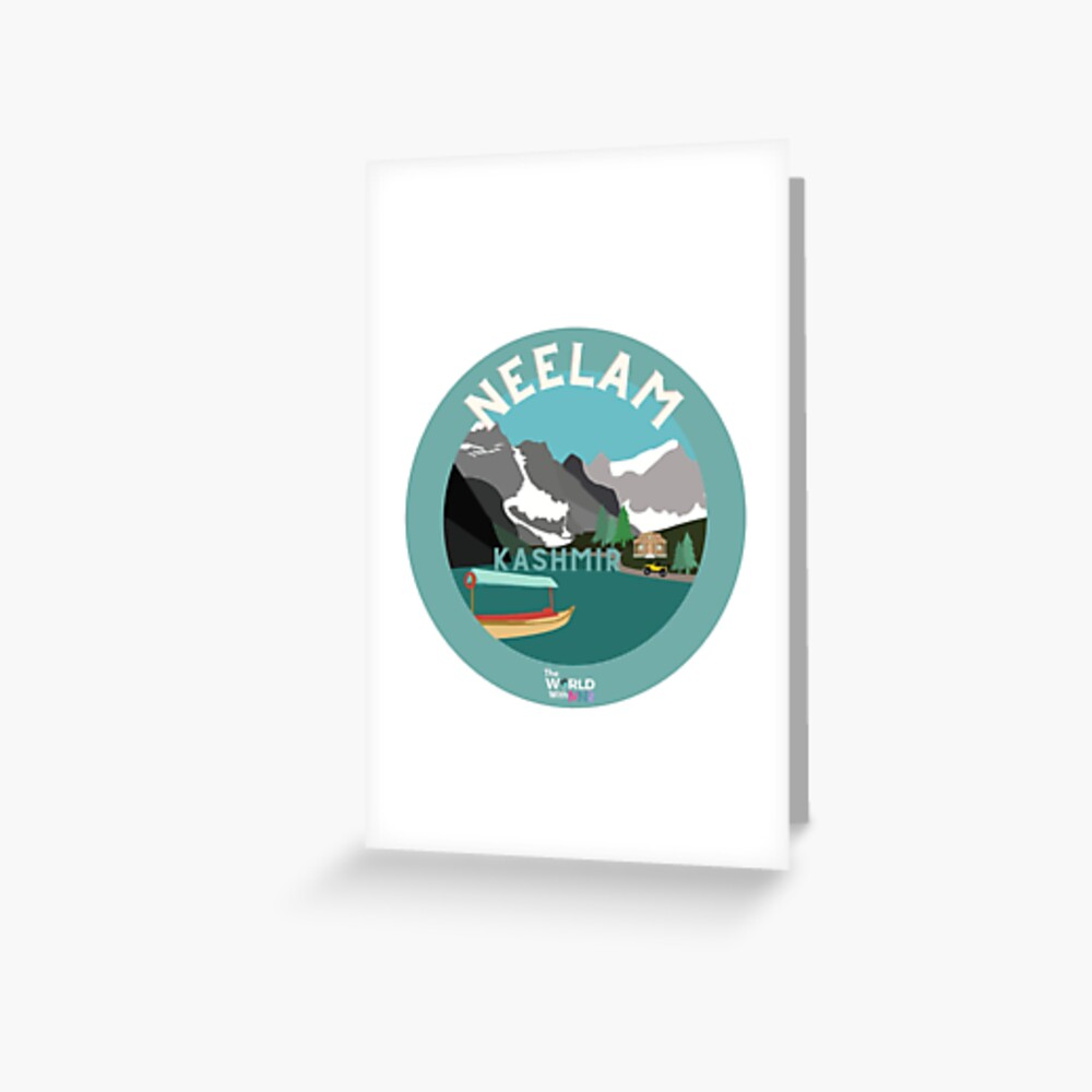 Neelam, Kashmir Collection Greeting Card