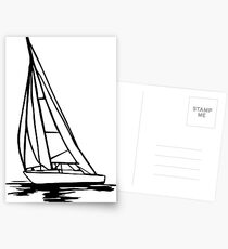 Sailingboat Postcards