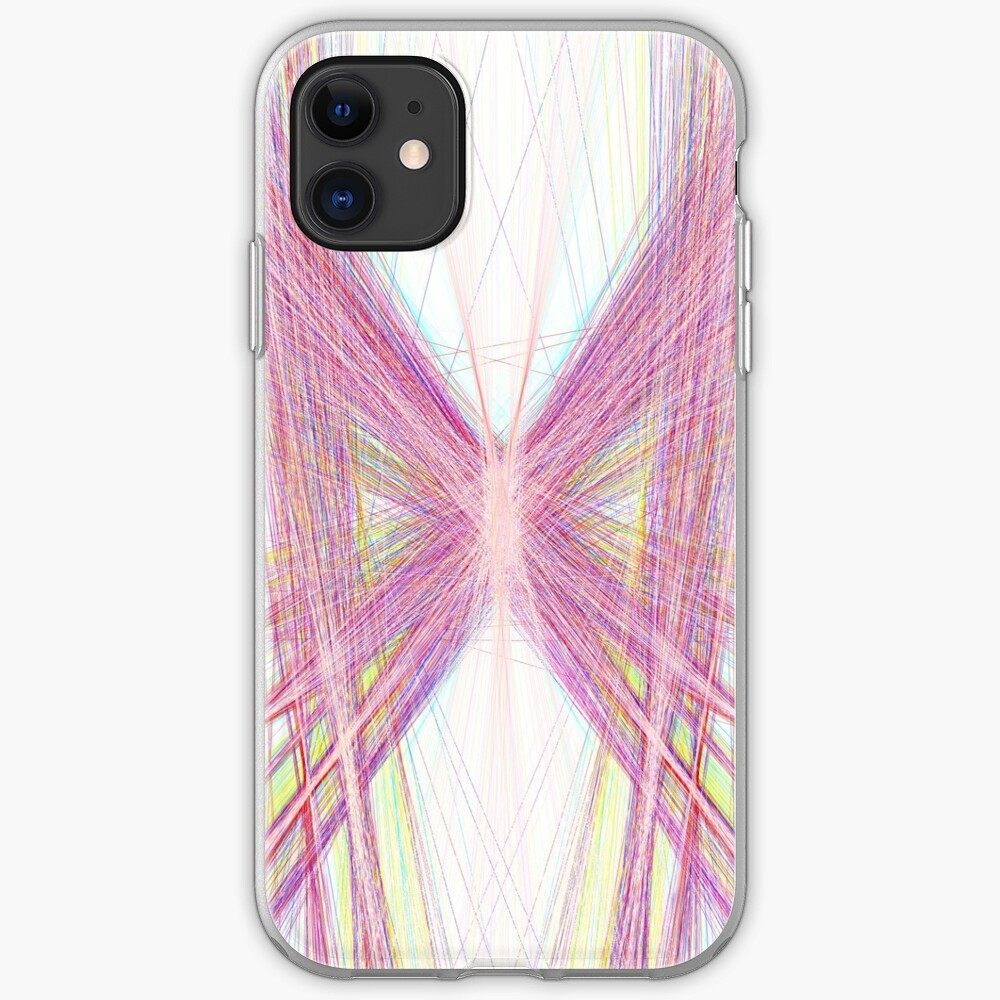 Linify Pink butterfly iPhone Case & Cover