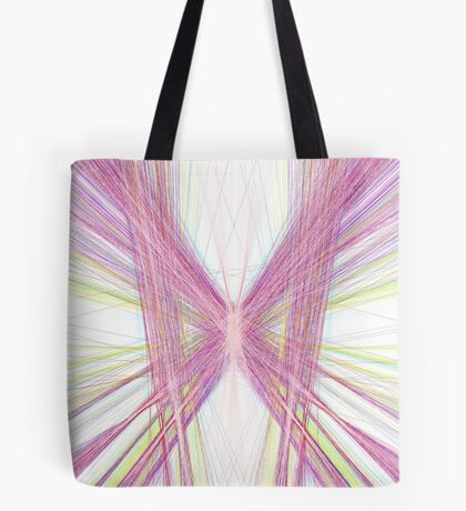 Linify Pink butterfly Tote Bag