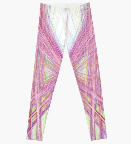 Linify Pink butterfly Leggings