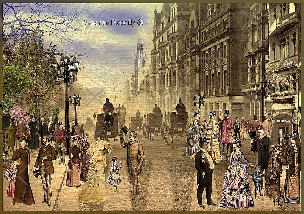 Victorian Picadilly Street by PrivateVices