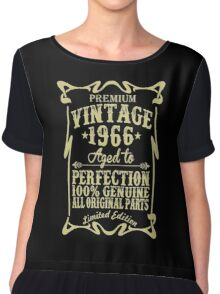 Premium vintage 1966 aged to perfection Chiffon Top