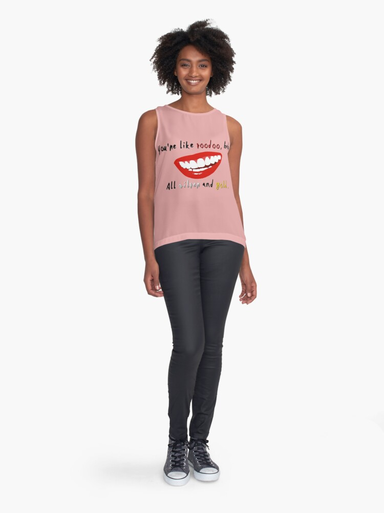 Alternate view of You're Like Voodoo, Baby - Rogue Traders Design Sleeveless Top