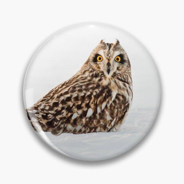 Short-eared Owl Pin